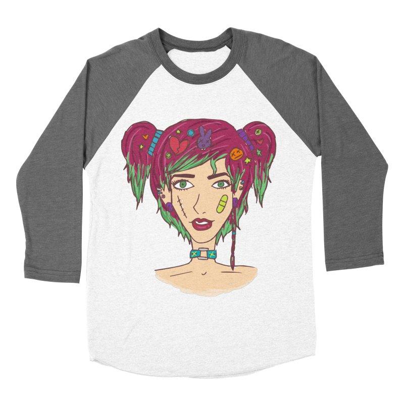 Roxy Fliss Women's Baseball Triblend T-Shirt by Kaela's Shop