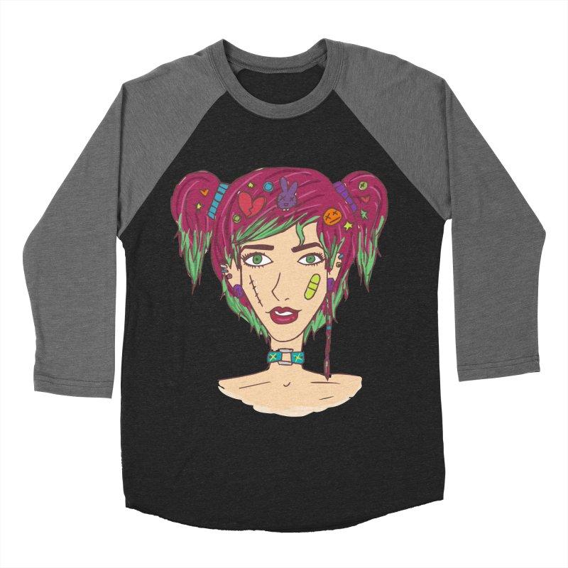 Roxy Fliss Women's Baseball Triblend Longsleeve T-Shirt by Kaela's Shop
