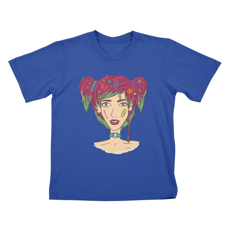 Roxy Fliss Kids T-Shirt by Kaela's Shop