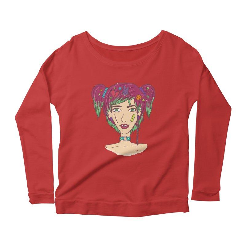Roxy Fliss Women's Scoop Neck Longsleeve T-Shirt by Kaela's Shop