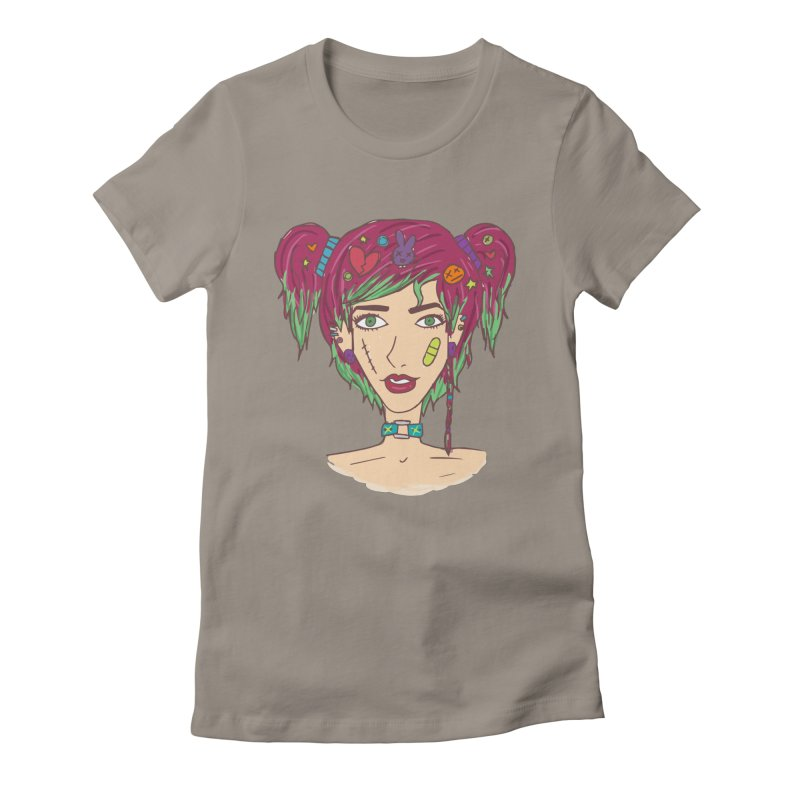 Roxy Fliss Women's Fitted T-Shirt by Kaela's Shop