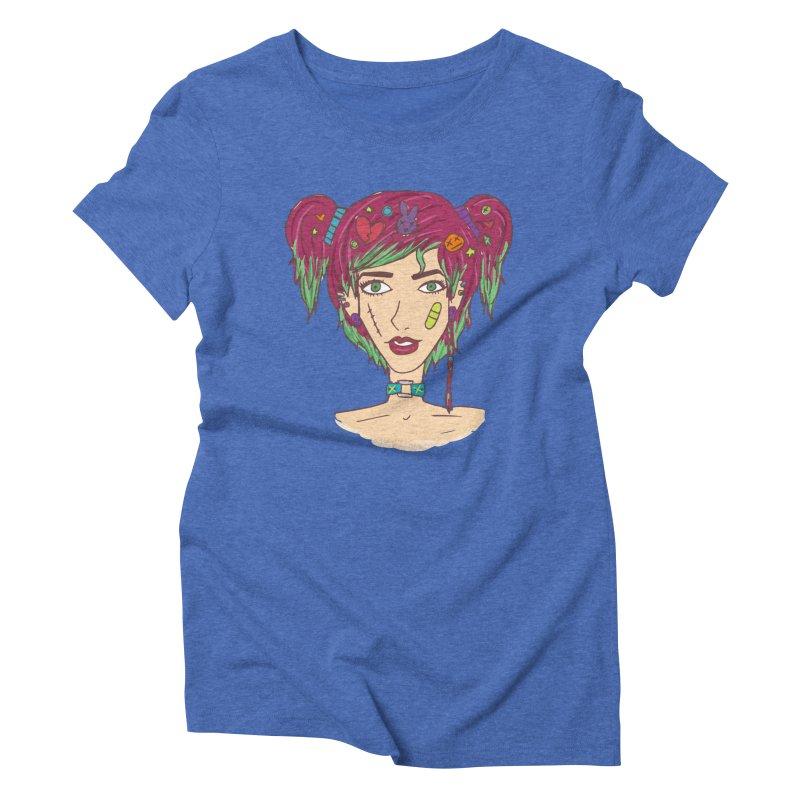 Roxy Fliss Women's Triblend T-shirt by Kaela's Shop