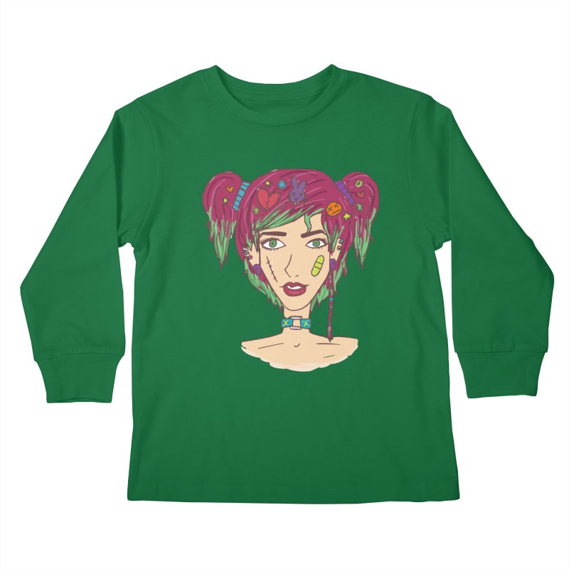 Roxy Fliss Kids Longsleeve T-Shirt by Kaela's Shop