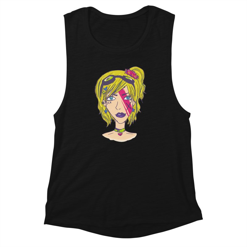 Vanessa Moxie  Women's Muscle Tank by Kaela's Shop