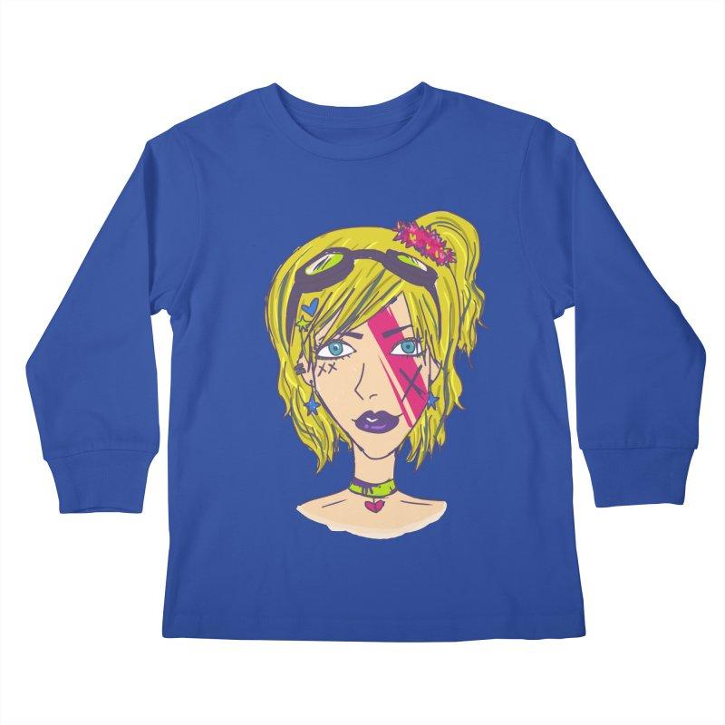 Vanessa Moxie  Kids Longsleeve T-Shirt by Kaela's Shop