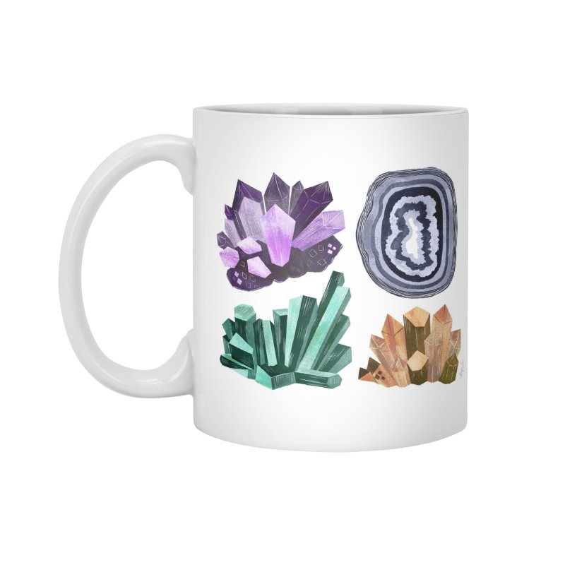 Vintage Gemstone - Chart 01 Accessories Mug by Kaija Lea Art Shop // Prints, Gifts + Home Goods