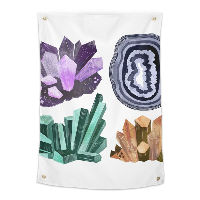 Vintage Gemstone - Chart 01 Home Tapestry by Kaija Lea Art Shop // Prints, Gifts + Home Goods