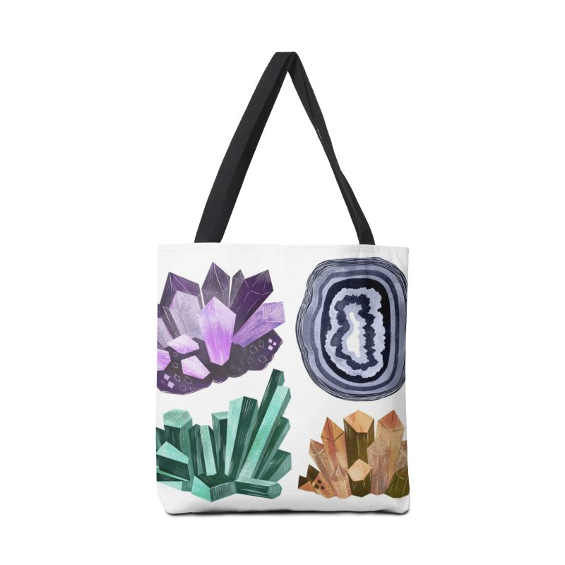 Vintage Gemstone - Chart 01 Accessories Bag by Kaija Lea Art Shop // Prints, Gifts + Home Goods