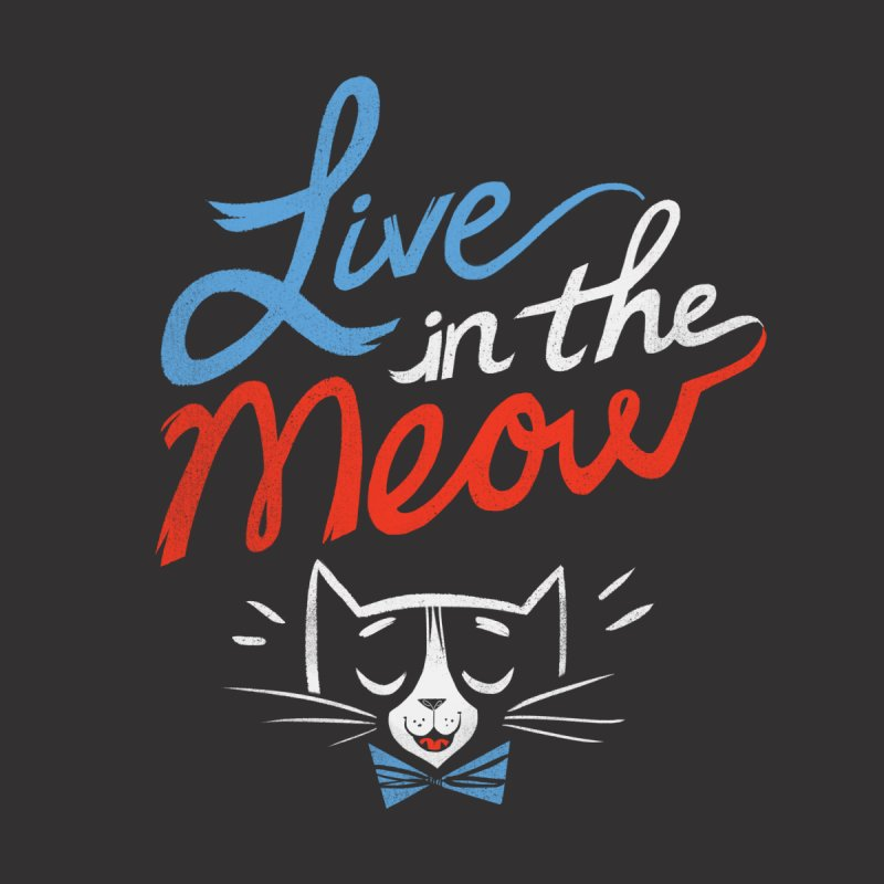 Live in the Meow Accessories Bag by Kaija Lea Art Shop // Prints, Gifts + Home Goods