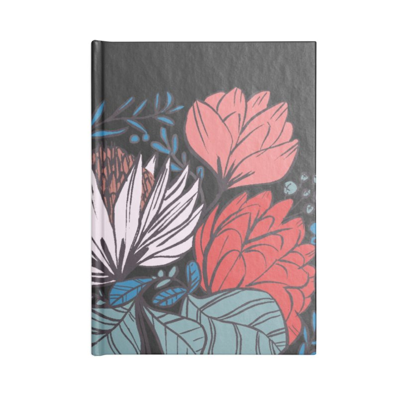 Big Leaf Botanical Accessories Notebook by Kaija Lea Art Shop // Prints, Gifts + Home Goods
