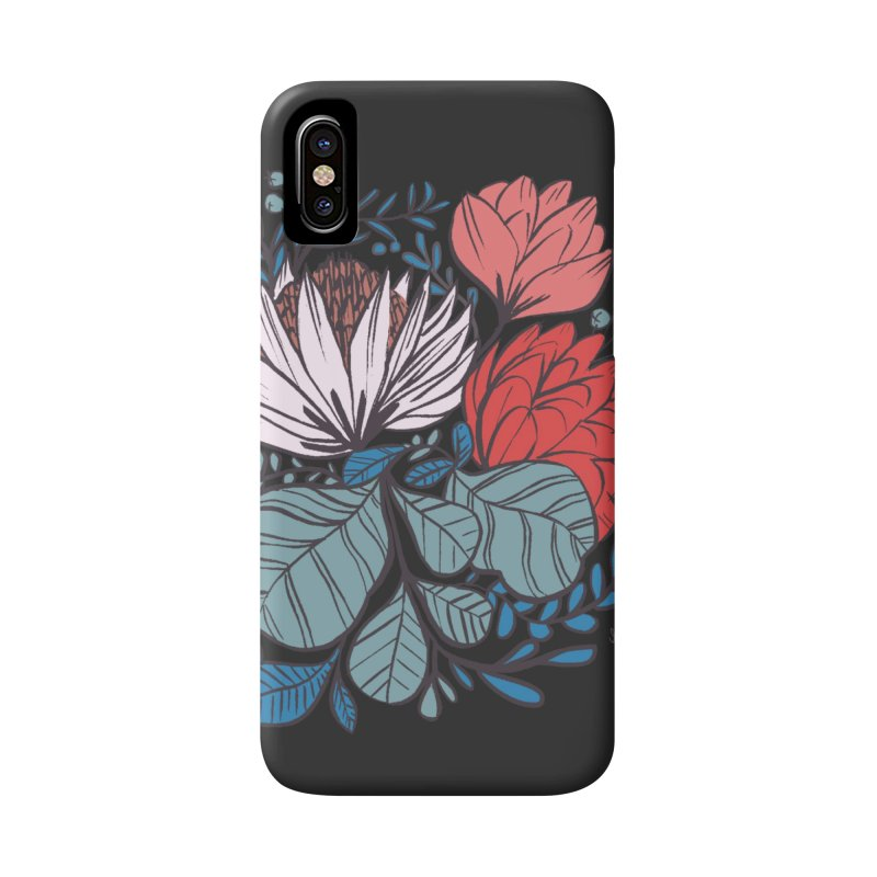 Big Leaf Botanical Accessories Phone Case by Kaija Lea Art Shop // Prints, Gifts + Home Goods