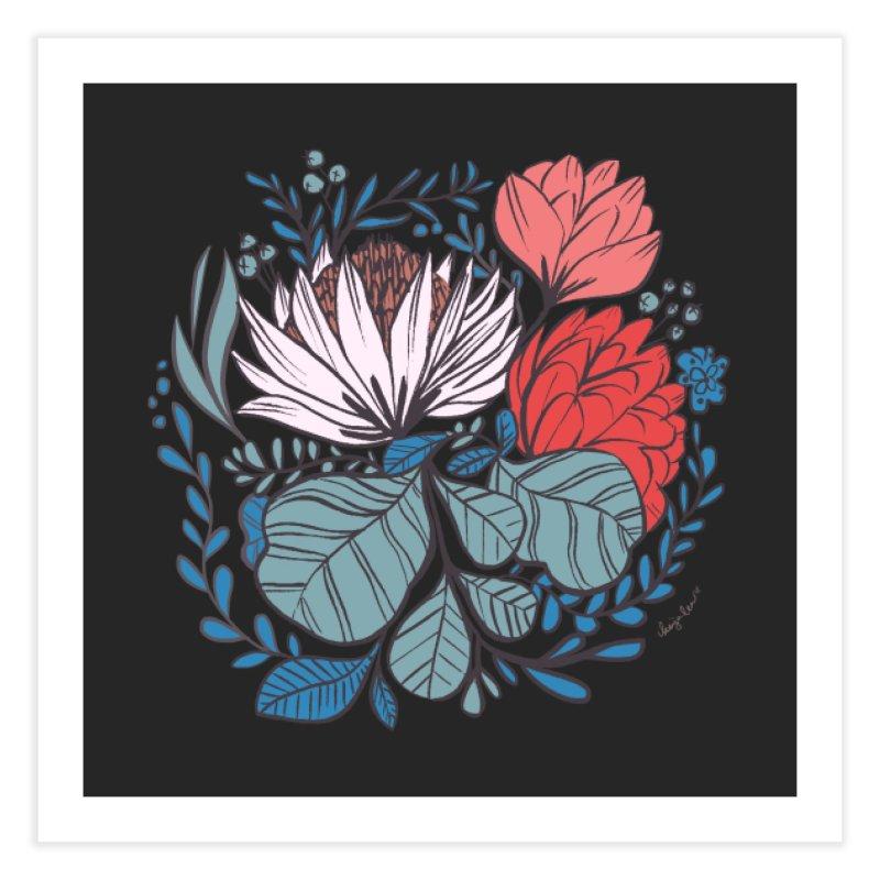 Big Leaf Botanical Home Fine Art Print by Kaija Lea Art Shop // Prints, Gifts + Home Goods