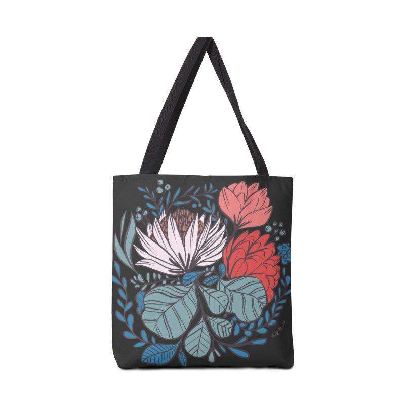 Big Leaf Botanical Accessories Bag by Kaija Lea Art Shop // Prints, Gifts + Home Goods