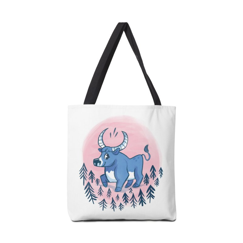 Babe the Blue Accessories Bag by Kaija Lea Art Shop // Prints, Gifts + Home Goods