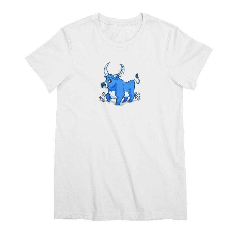 Babe the Blue Women's Premium T-Shirt by Kaija Lea Art Shop // Prints, Gifts + Home Goods