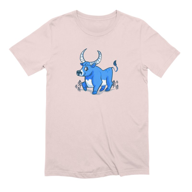 Babe the Blue Men's Extra Soft T-Shirt by Kaija Lea Art Shop // Prints, Gifts + Home Goods