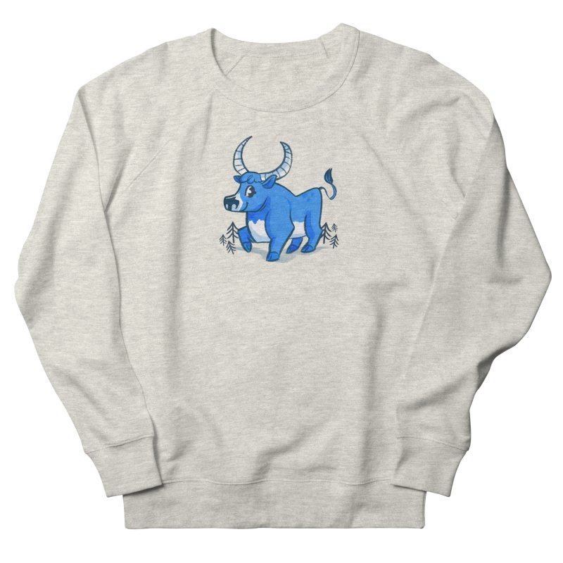 Babe the Blue Men's French Terry Sweatshirt by Kaija Lea Art Shop // Prints, Gifts + Home Goods