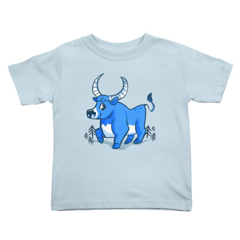Babe the Blue Kids Toddler T-Shirt by Kaija Lea Art Shop // Prints, Gifts + Home Goods