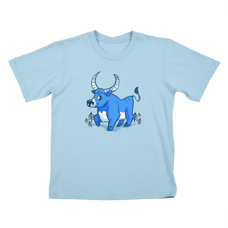 Babe the Blue Kids T-Shirt by Kaija Lea Art Shop // Prints, Gifts + Home Goods