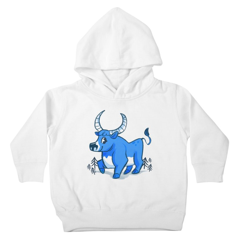 Babe the Blue Kids Toddler Pullover Hoody by Kaija Lea Art Shop // Prints, Gifts + Home Goods