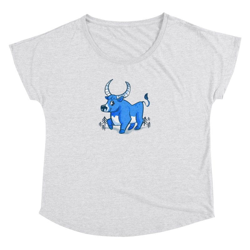 Babe the Blue Women's Dolman Scoop Neck by Kaija Lea Art Shop // Prints, Gifts + Home Goods