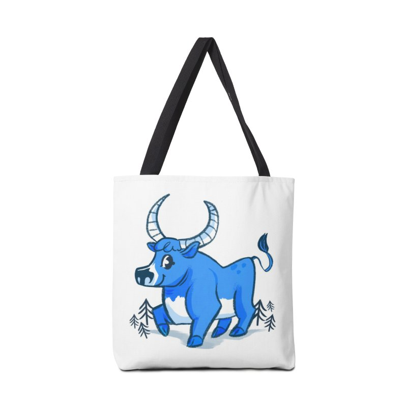 Babe the Blue Accessories Tote Bag Bag by Kaija Lea Art Shop // Prints, Gifts + Home Goods