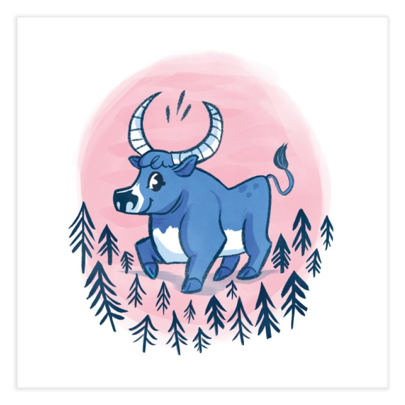 Babe the Blue Home Fine Art Print by Kaija Lea Art Shop // Prints, Gifts + Home Goods