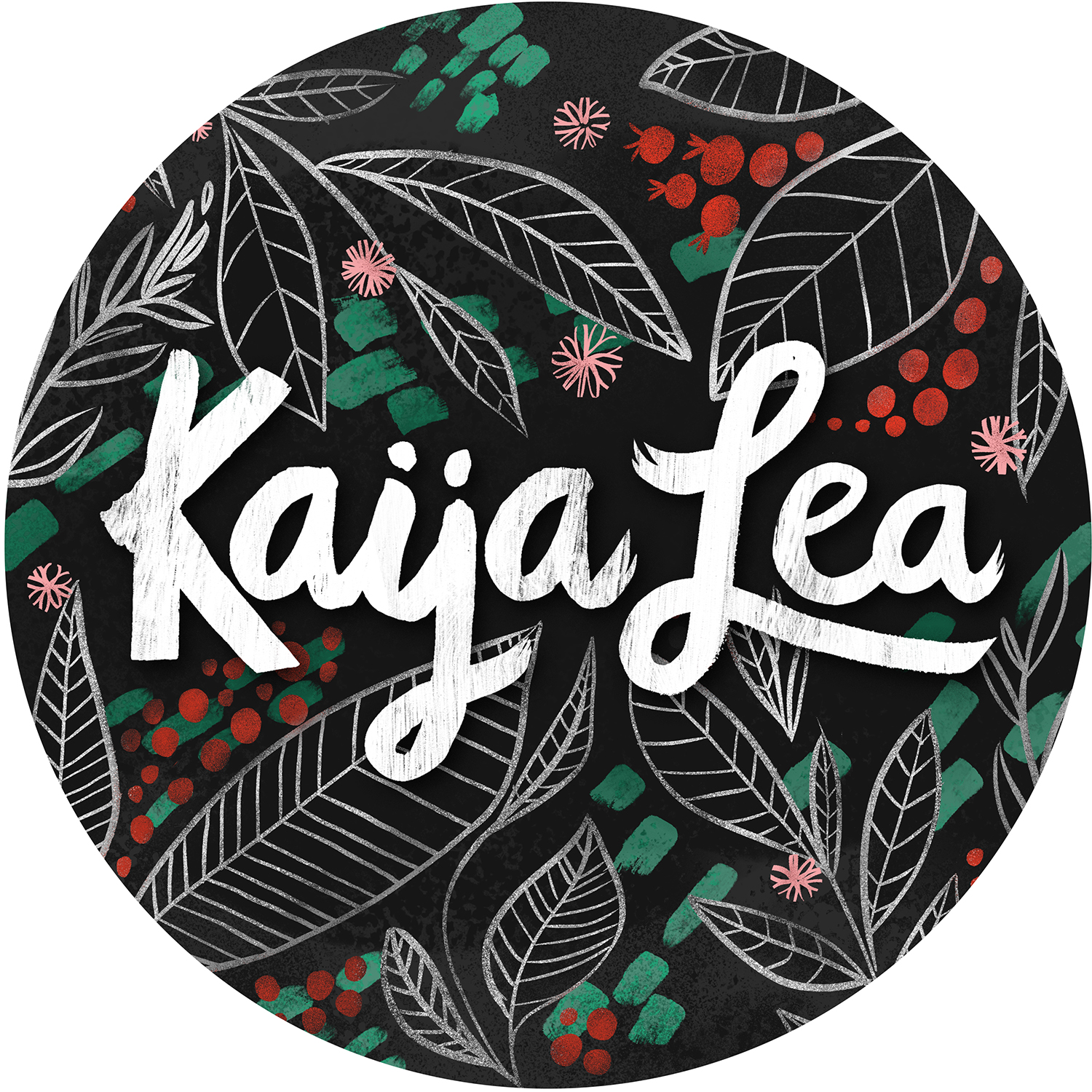 Kaija Lea Art Shop // Prints, Gifts + Home Goods Logo