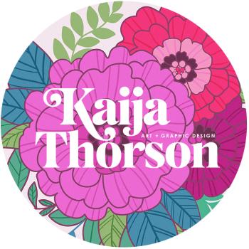 Kaija Thorson // Wild + Whimsical Wearables Logo