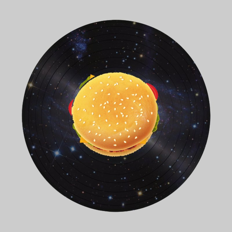 BURGER UNIVERSE None  by kajenoz's Artist Shop