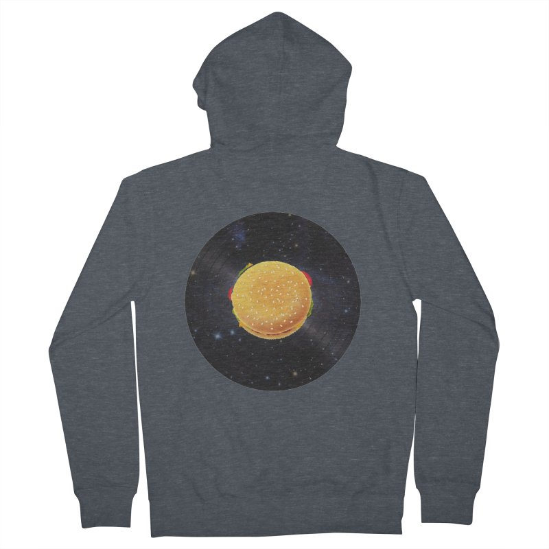 BURGER UNIVERSE Men's Zip-Up Hoody by kajenoz's Artist Shop