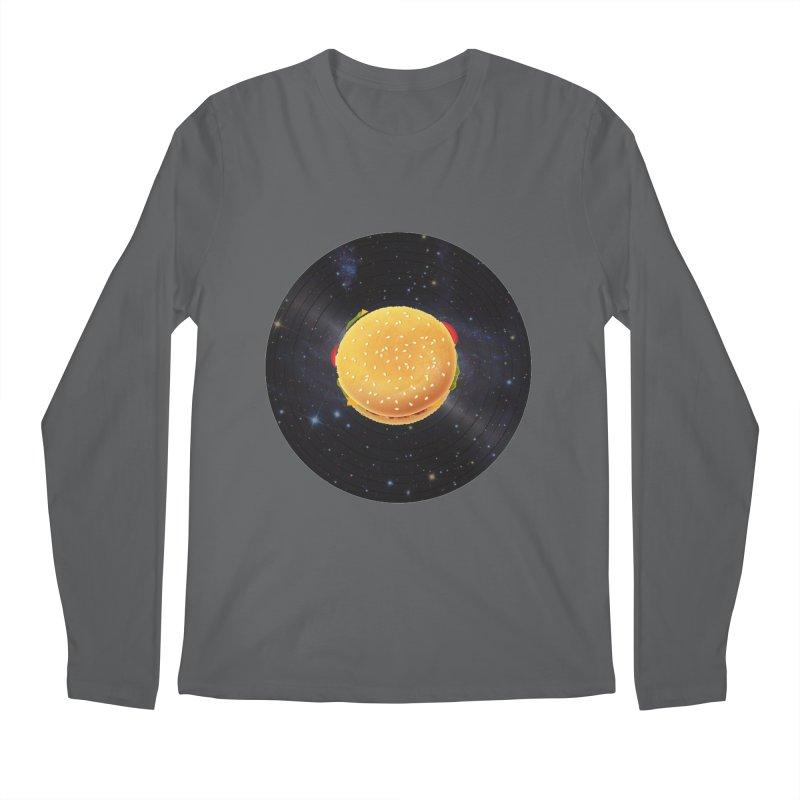 BURGER UNIVERSE Men's Longsleeve T-Shirt by kajenoz's Artist Shop