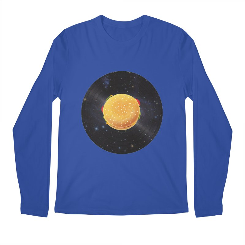 BURGER UNIVERSE Men's Longsleeve T-Shirt by kajenoz's Artist Shop