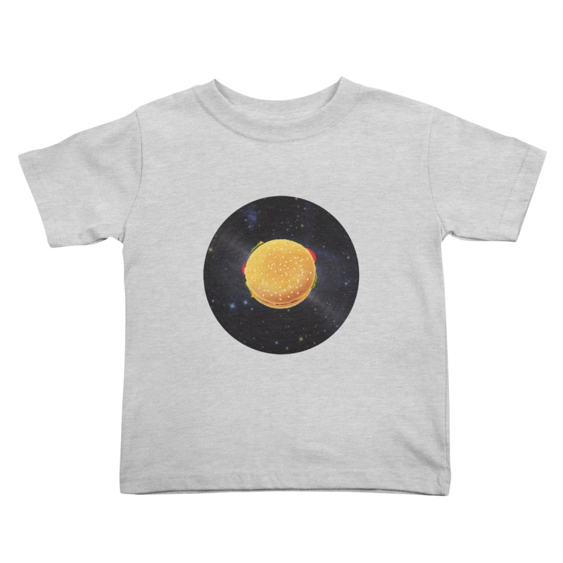 BURGER UNIVERSE Kids Toddler T-Shirt by kajenoz's Artist Shop