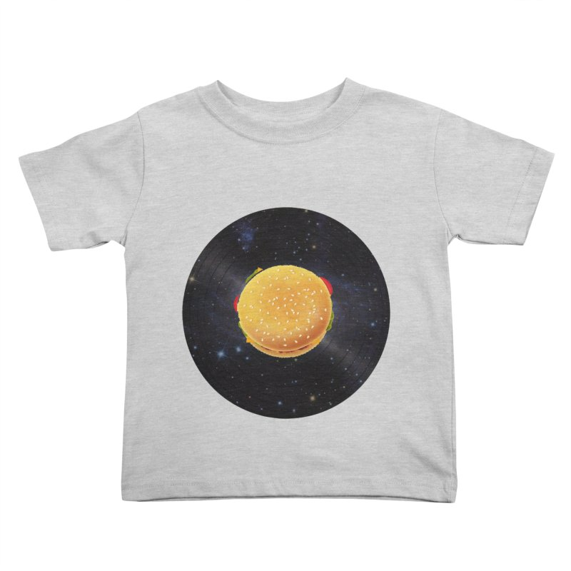 BURGER UNIVERSE Kids Toddler T-Shirt by kajenoz's Artist Shop