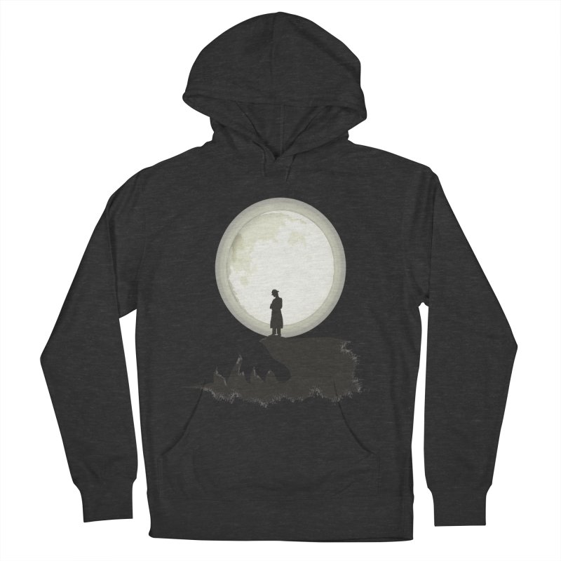 A MAN ON THE HILL Men's Pullover Hoody by kajenoz's Artist Shop