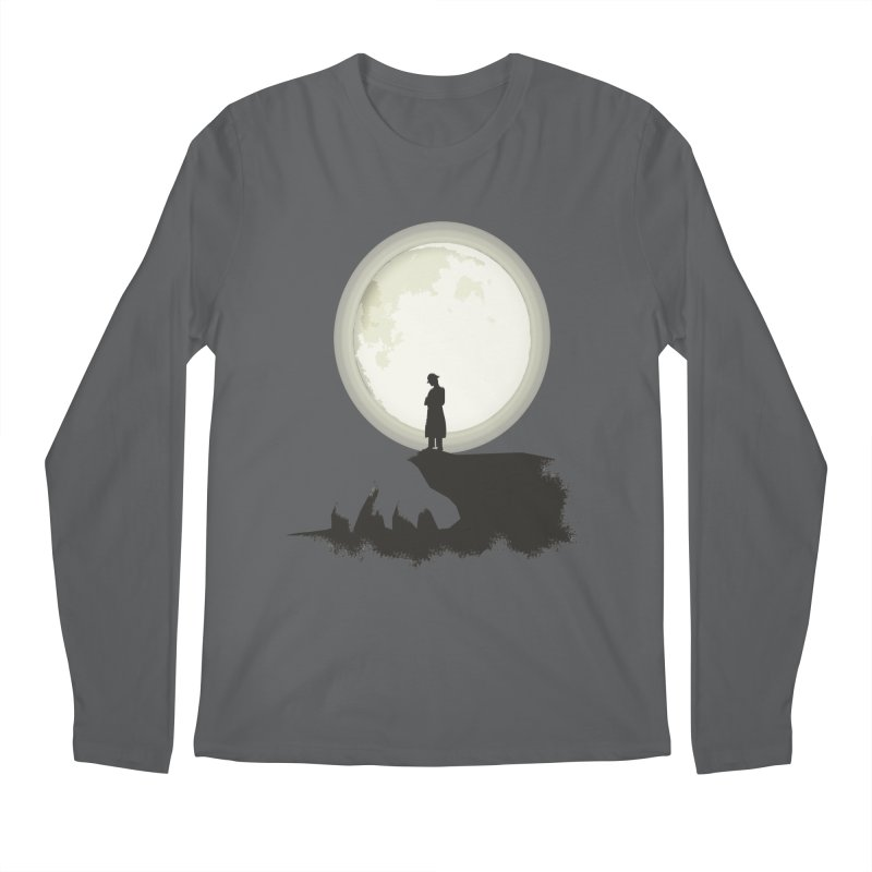 A MAN ON THE HILL Men's Longsleeve T-Shirt by kajenoz's Artist Shop