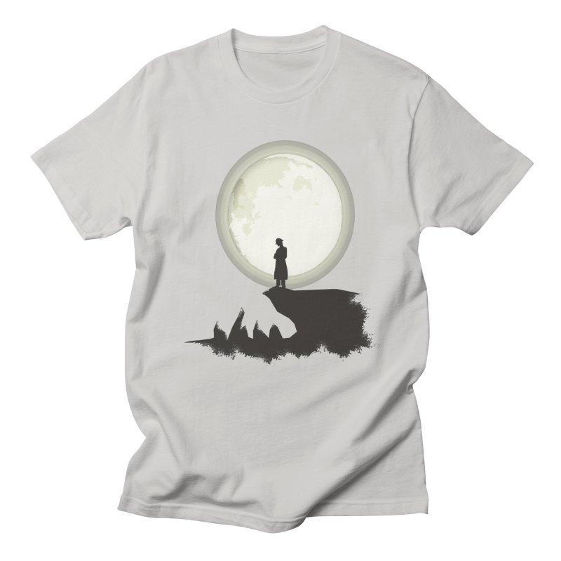 A MAN ON THE HILL Men's T-shirt by kajenoz's Artist Shop