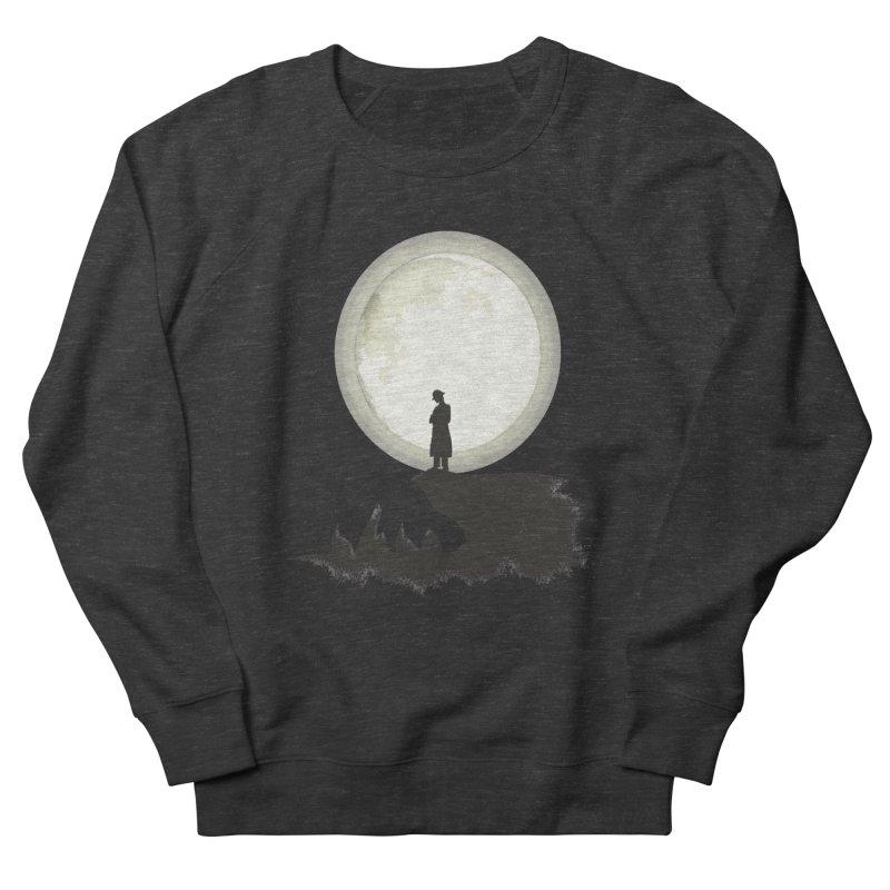 A MAN ON THE HILL Women's Sweatshirt by kajenoz's Artist Shop