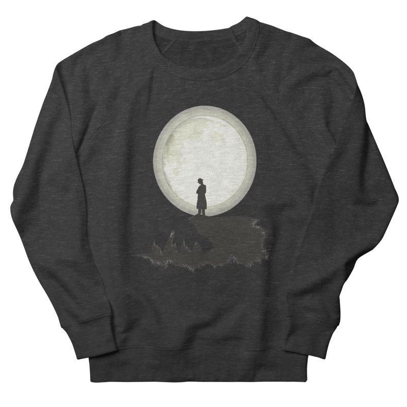 A MAN ON THE HILL Men's Sweatshirt by kajenoz's Artist Shop