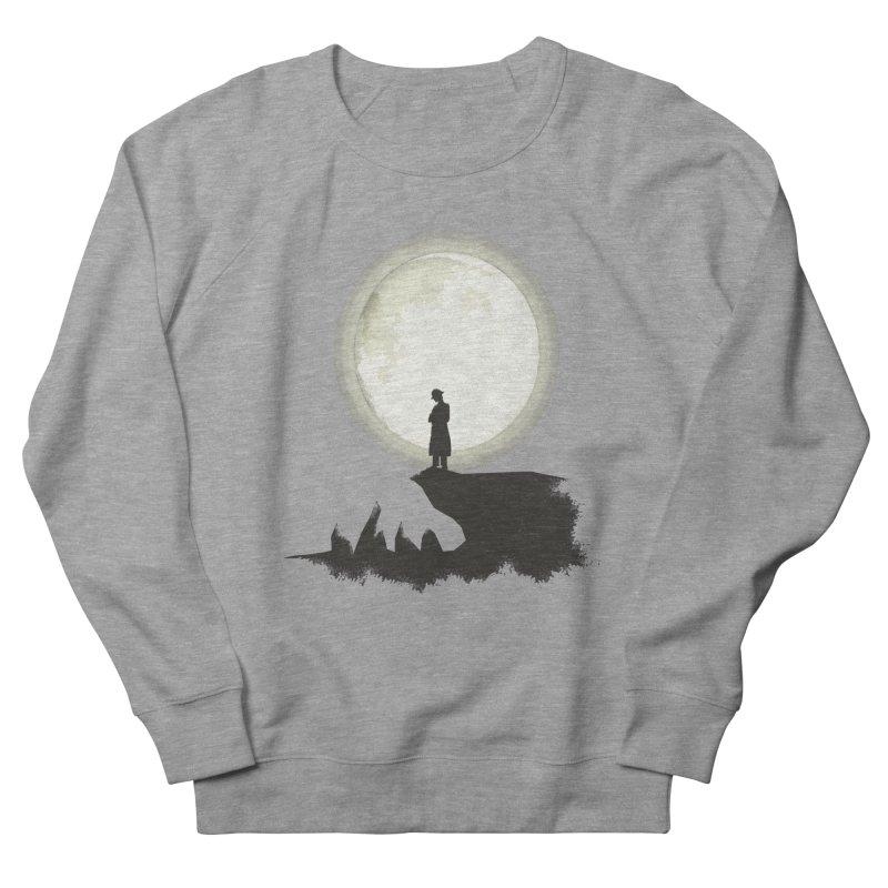 A MAN ON THE HILL Men's Sweatshirt by kajenoz's Artist Shop