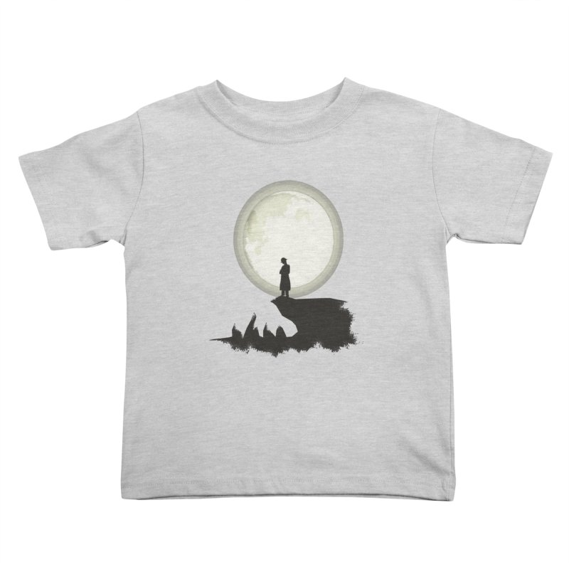 A MAN ON THE HILL Kids Toddler T-Shirt by kajenoz's Artist Shop