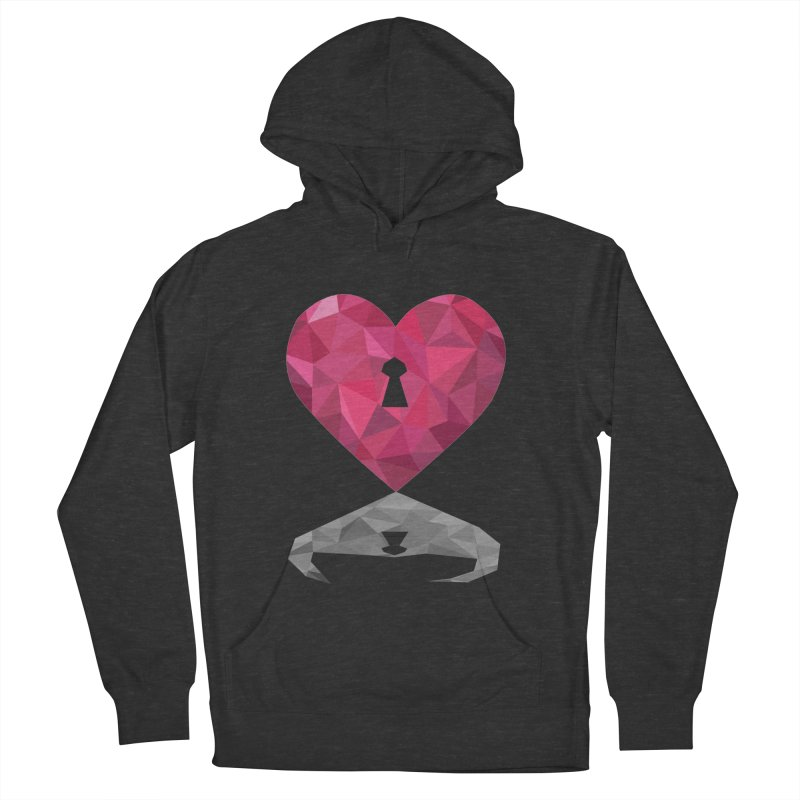 HARD HEART Women's Pullover Hoody by kajenoz's Artist Shop