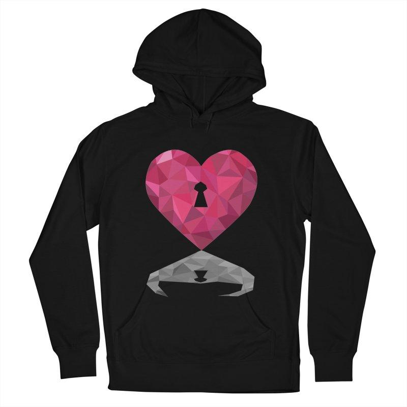 HARD HEART Men's Pullover Hoody by kajenoz's Artist Shop