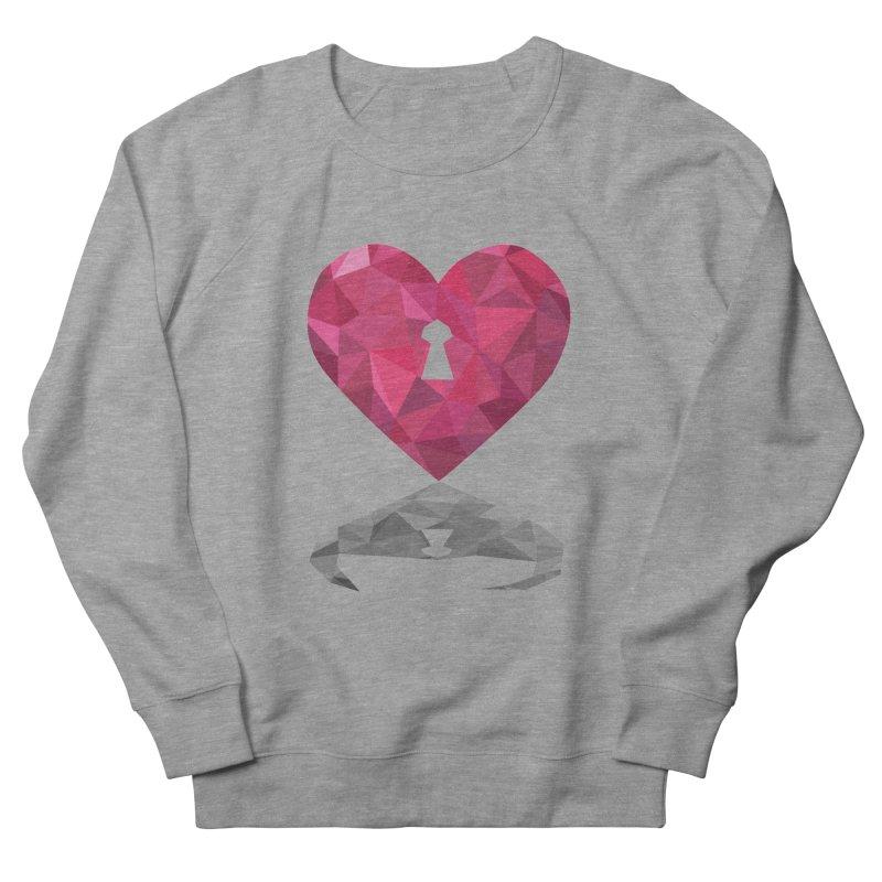 HARD HEART Women's Sweatshirt by kajenoz's Artist Shop