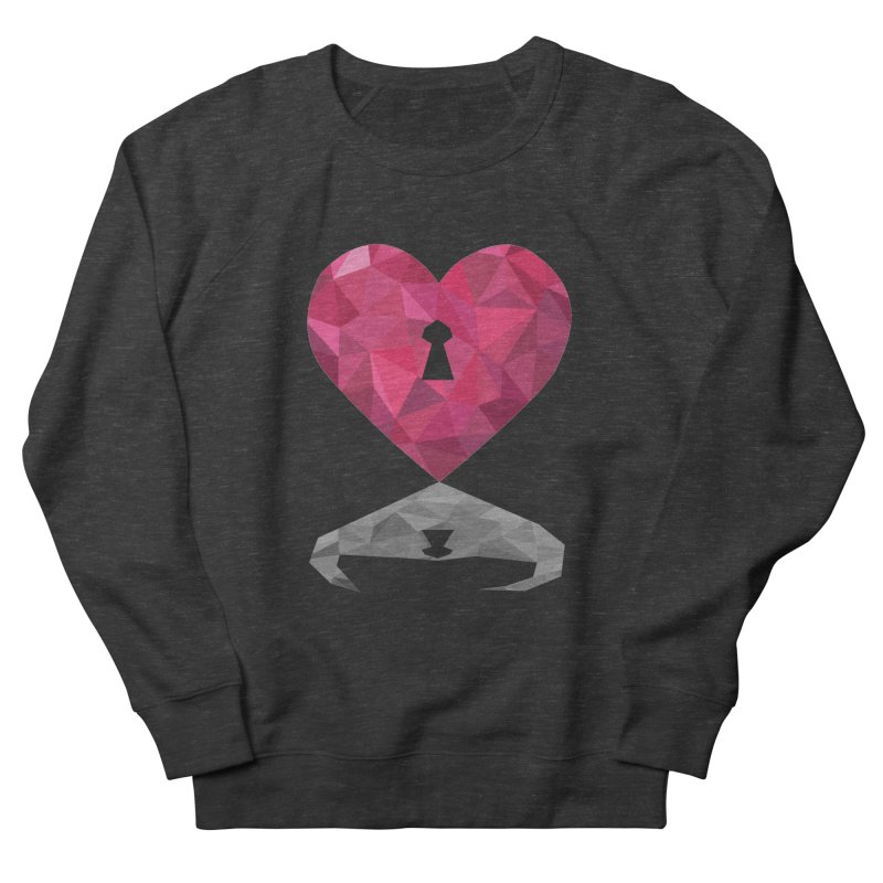 HARD HEART Men's Sweatshirt by kajenoz's Artist Shop