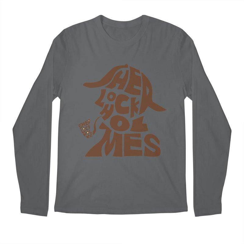 SHERLOCK HOLMES Men's Longsleeve T-Shirt by kajenoz's Artist Shop
