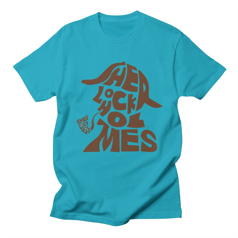 SHERLOCK HOLMES Men's T-Shirt by kajenoz's Artist Shop