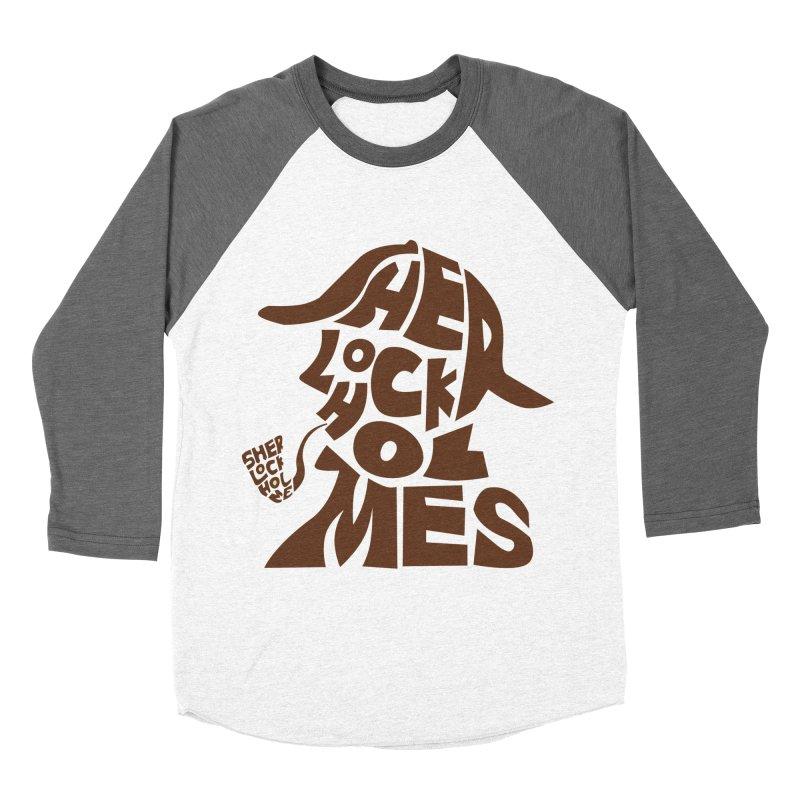SHERLOCK HOLMES Women's Baseball Triblend T-Shirt by kajenoz's Artist Shop