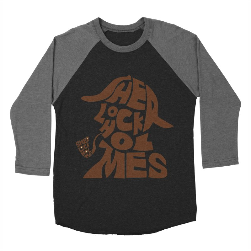 SHERLOCK HOLMES Men's Baseball Triblend T-Shirt by kajenoz's Artist Shop